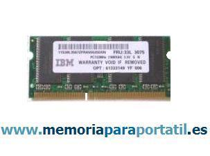 256MB PC133 SDRAM SODIMM 133MHz