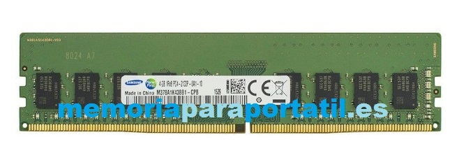 4GB DDR4 PC4-17000 DIMM  UDIMM 2133MHz 288 pines 1,2V CL2