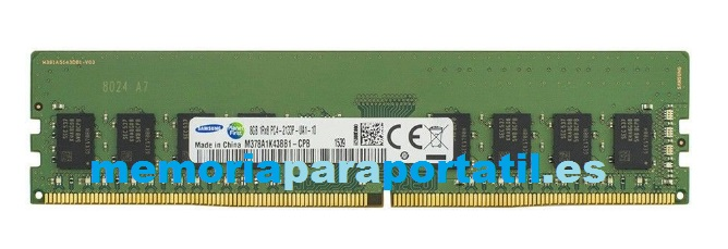 8GB DDR4 PC4-17000 DIMM  UDIMM 2133MHz 288 pines 1,2V CL2